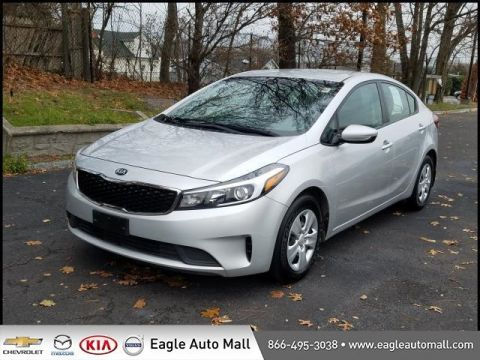 Certified Pre-Owned 2017 Kia Forte LX FWD 4D Sedan