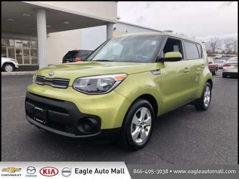 Certified Pre-Owned 2017 Kia Soul Base FWD 4D Hatchback