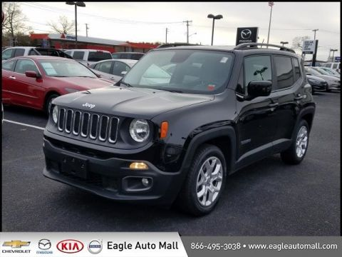 Pre-Owned 2015 Jeep Renegade Latitude FWD 4D Sport Utility